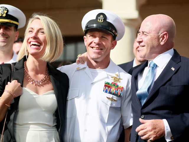 Navy SEALs call pardoned Chief Gallagher 'evil', 'toxic' in newly release videos of confidential interview