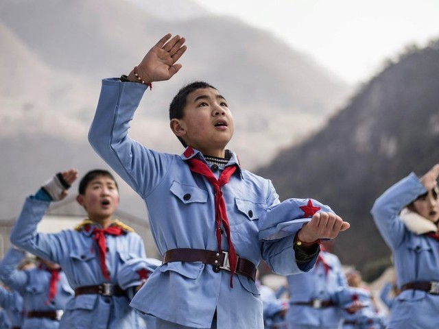 To Inspire Young Communists, China Turns to 'Red Army' Schools