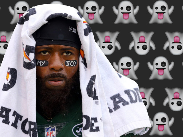 Jeremy Kerley says the Ghost of Christmas Past is to blame for his suspension