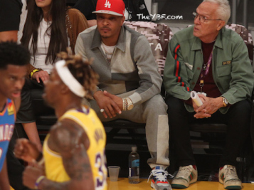 T.I. Pops Up At Lakers Game Following Hymen-gate + Venus Williams Transforms Into A Laker Girl!