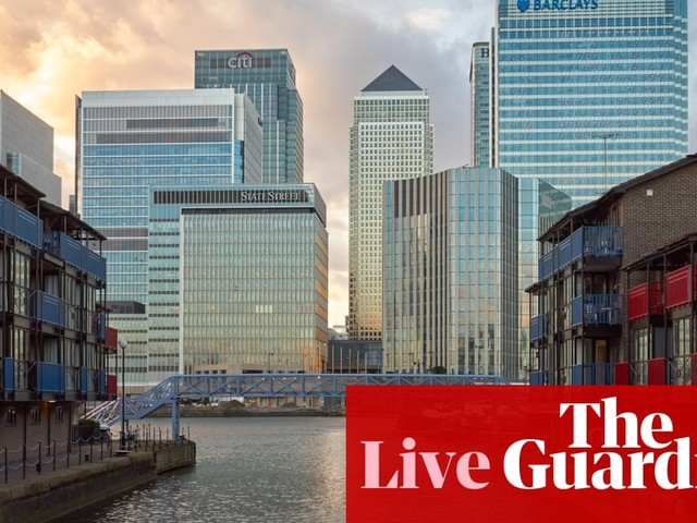 Pound hits 31-month high against the euro on Tory win predictions – business live