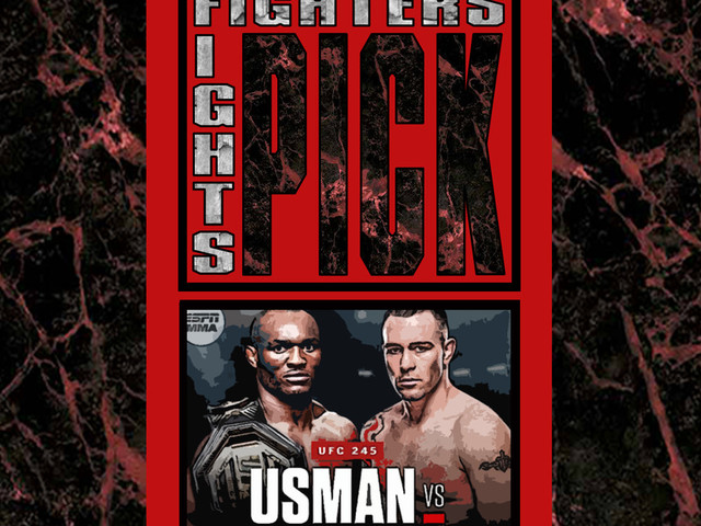 Kamaru Usman vs. Colby Covington - UFC 245 - Fighters Pick Fights