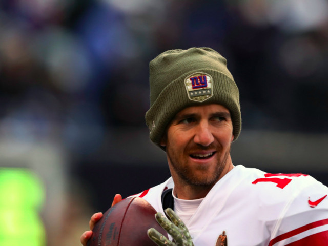 Eli Manning Is 'Likely to Start' Sunday and People Are Excited