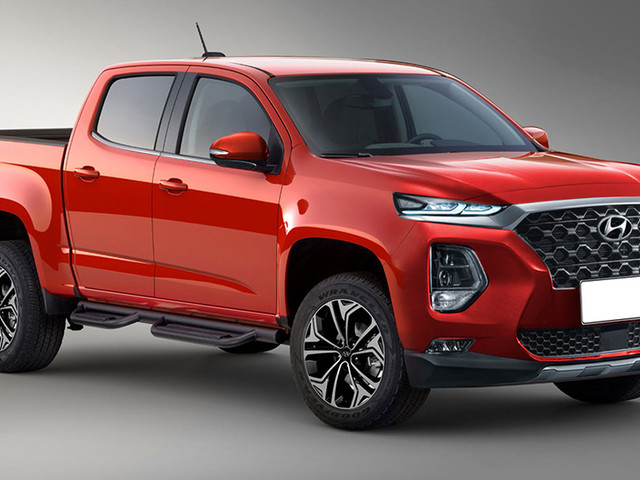 Hyundai's Rugged Pickup Truck Could Use GV80's Straight-Six Diesel