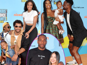Nickelodeon Kids' Choice Sports Awards: The Wilsons & The Wades Are #FamilyGoals Times 10! + Kawhi Leonard, Zion Williams & More Attend