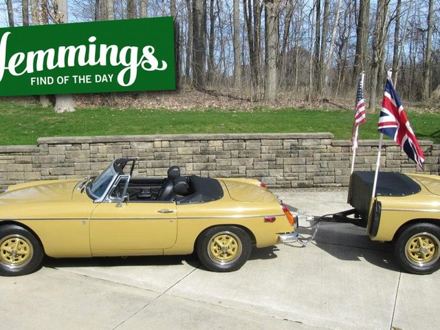 Hemmings Find of the Day: 1973 MG B with matching trailer