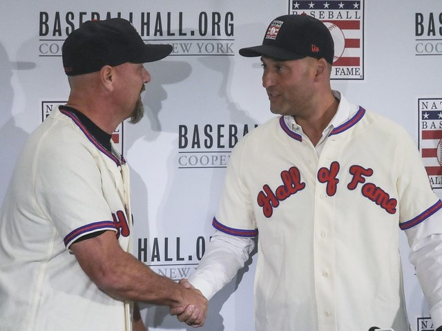 Odd Couple: Jeter, Walker take different routes to Hall