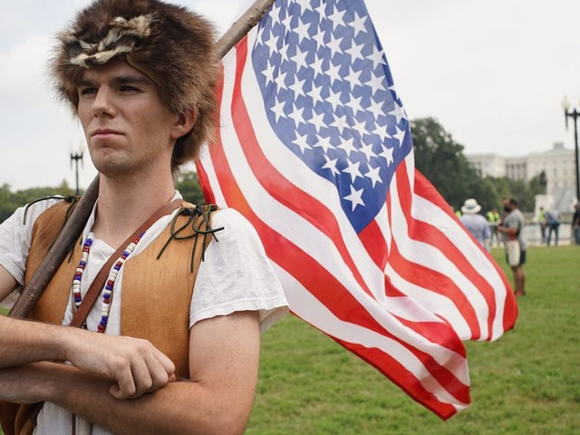 Photos: Who were the protesters who showed up to the Justice for J6 rally in DC