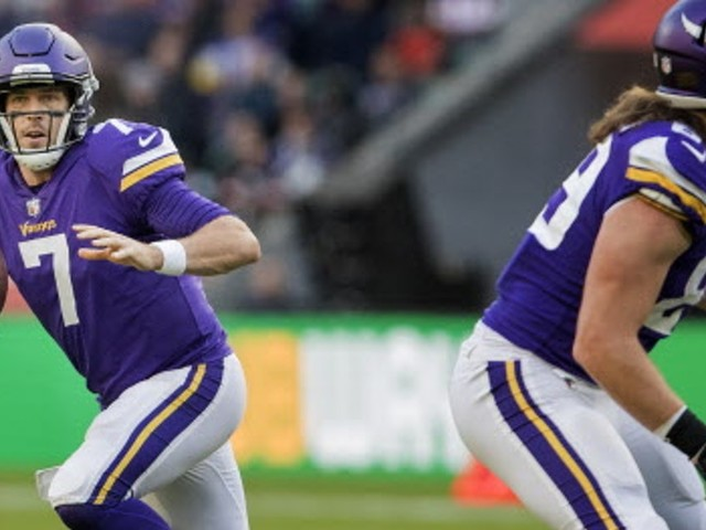 Case Keenum has been NFL's best QB outside the pocket this season