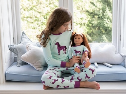 Girl & Doll Matching Pajamas only $17.99 + shipping!