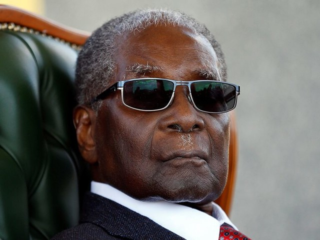Robert Mugabe, longtime ruler of Zimbabwe, dead at 95