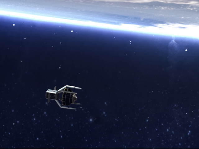 Europe Is Launching a Suicide Robot to 'Hug' Space Trash Out of Orbit