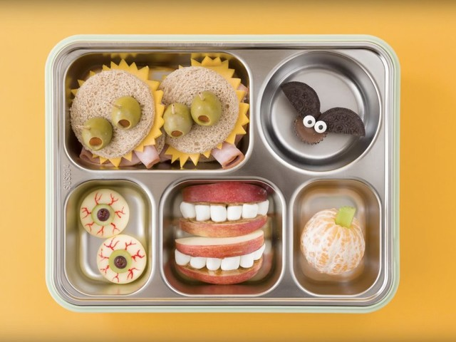 Celebrate Halloween in style with this monster-themed lunchbox
