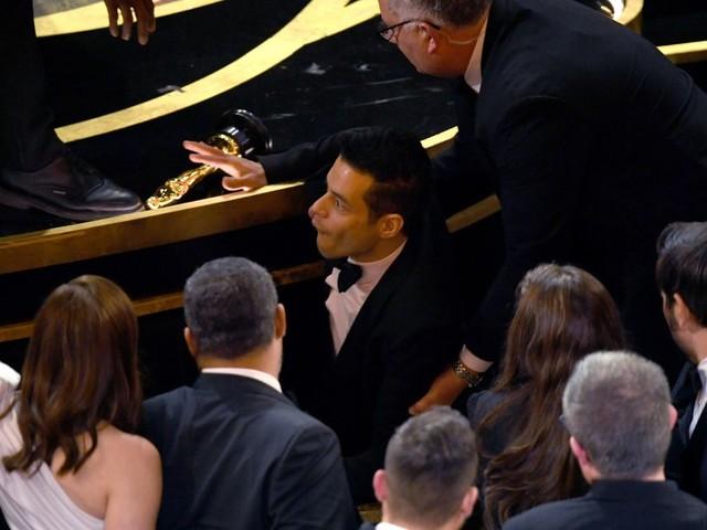 Oscars 2019: Rami Malek treated by medics after lead actor win