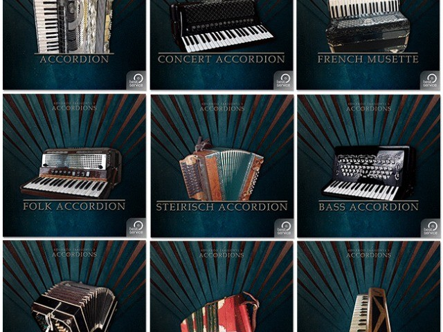 Accordions - One At A Time