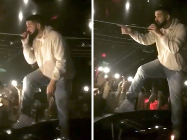 "Drake Threatens Male Fan for Groping Women During Concert: ""I Will F**k You Up!"""