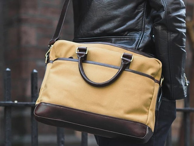 Thursday Boot Co. makes a really nice leather briefcase for under $250 — as far as work bags go, it's one of the best values I've found