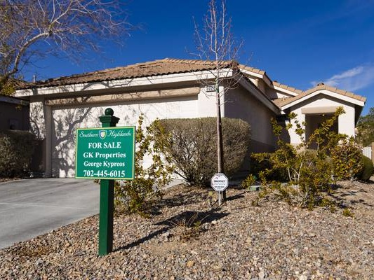 Las Vegas sees another record high in median home price