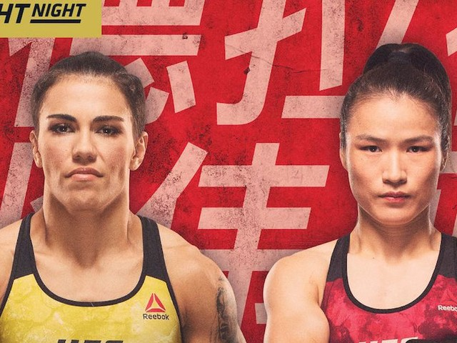 UFC Shenzhen: live results, discussion, play by play