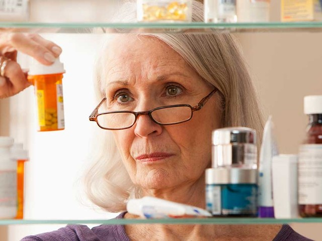 Most Seniors Are Taking Too Many Prescriptions
