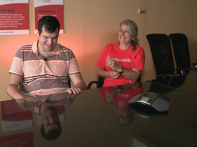 'She's Like A Second Mother To Me': Special Needs Students Describes His Mentor At EasterSeals South Florida