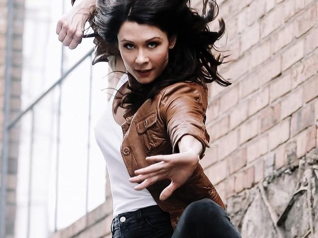 Interview: Emmy-nominated 'Cobra Kai' stunt performer Jahnel Curfman