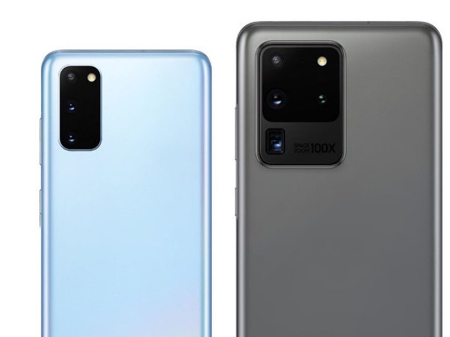 Samsung Galaxy S20 official renders leak showing off two colors alongside prices