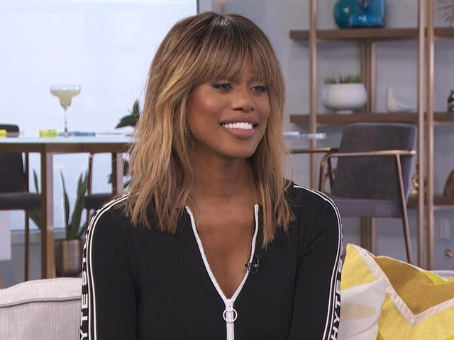 "Laverne Cox on Talking With Meghan Markle for ""Vogue"""