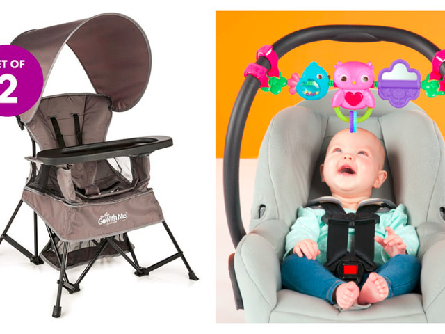 Up to 45% off Baby Gear + Extra 10% off at Zulily – Go With Me Venture Deluxe Portable Chair – Set of Two only $71.99 (reg. $139.99)