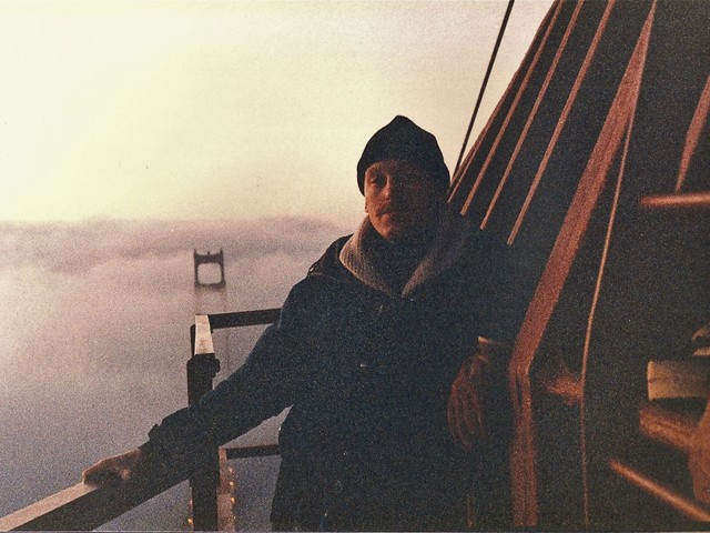 In 1985, two guys climbed to the top of the Golden Gate Bridge and hung a 49ers banner