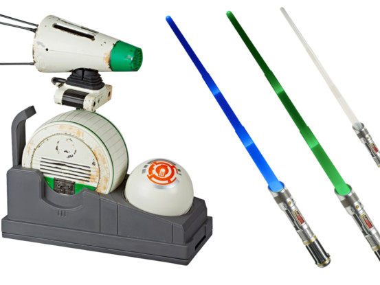 Hasbro introducing new D-O Droid and Lightsaber Academy app-connected Star Wars toys
