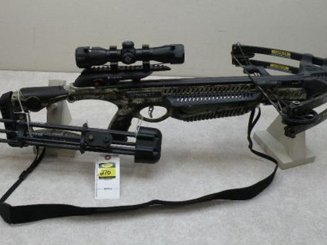 Bidding begins on firearms, bows and more confiscated by DNR officers