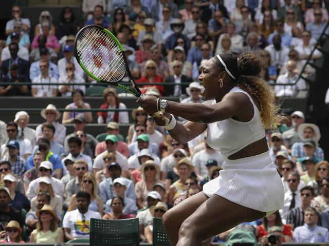 Wimbledon Glance: Williams faces Riske in quarterfinals