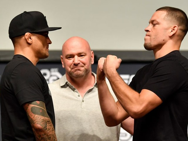 Poirier willing to box Diaz: 'It's a fight I can shine in'
