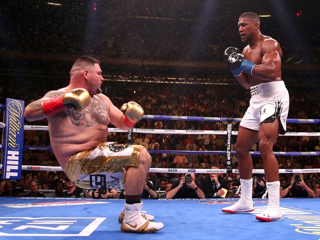 """Anthony Joshua Makes Huge Claim Ahead of Andy Ruiz Rematch: """"I Am Gonna Whup Him"""""""