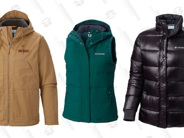 Gear Up For Chilly Spring Days With Up to 60% Off Select Apparel From Columbia
