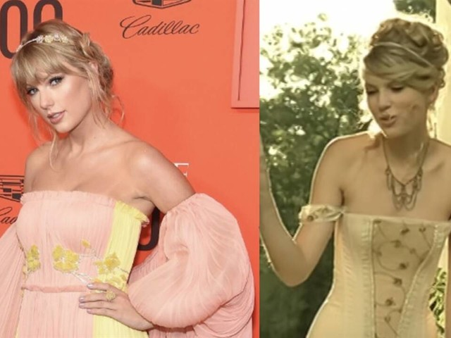 """Taylor Swift Channels """"Love Story"""" Music Video at TIME 100 Gala"""