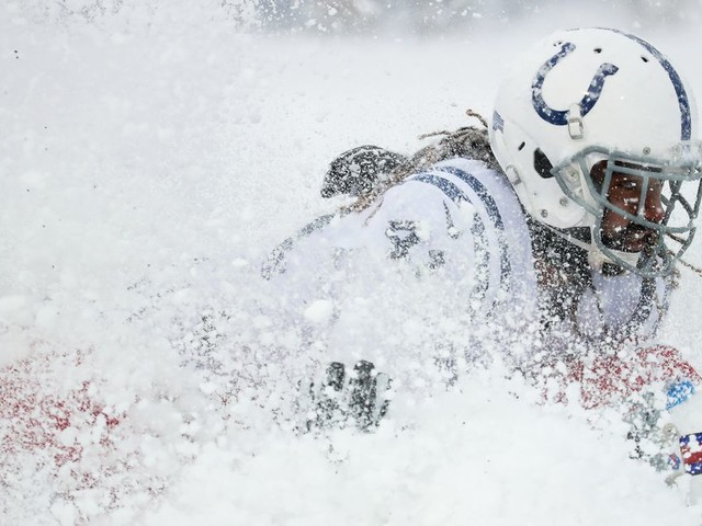 Hell yes, we could get snow football for Colts vs. Chiefs