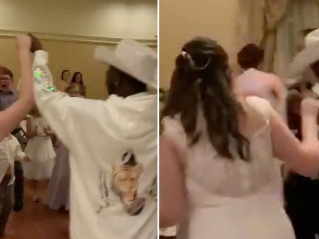 Lil Nas X Casually Crashes a Wedding and Surprises Young Fans at Disney World