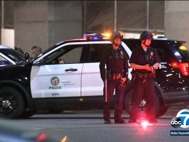 LAPD officer injured after officer-involved shooting in Boyle Heights, manhunt on for suspect