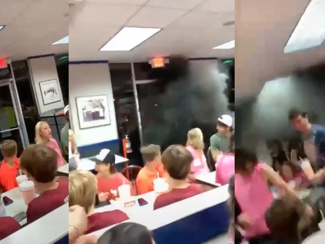'Ain't that like attempted murder?': Driver rolls coal into Whataburger dining room in viral TikTok