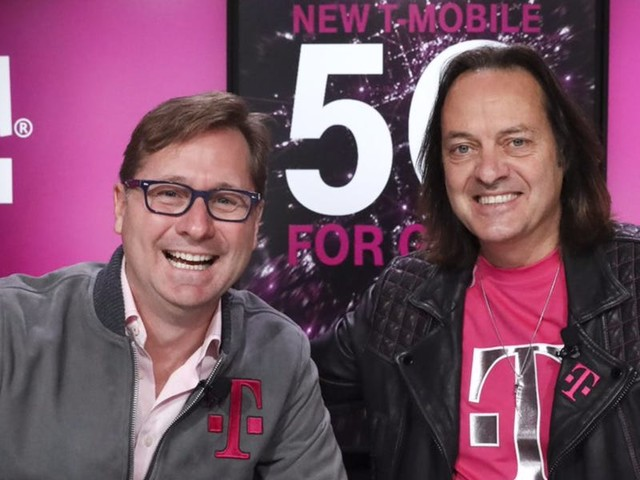 T-Mobile CEO John Legere is stepping down in May 2020 (TMUS)