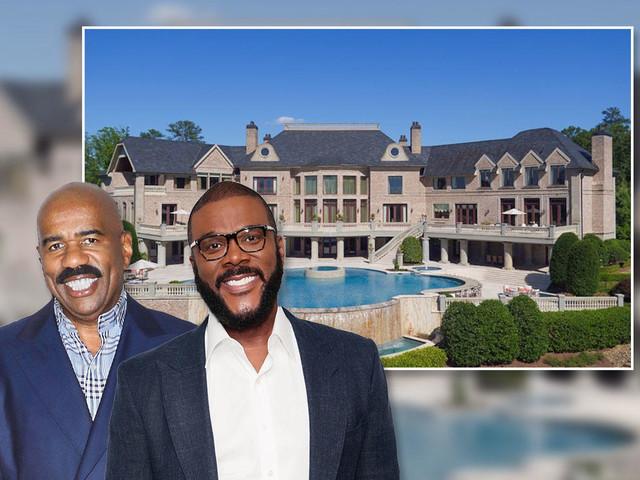 Steve Harvey picks up friend Tyler Perry's old Atlanta mansion for $15M