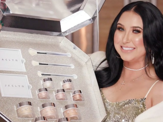 Here's everything featured in Jaclyn Hill's holiday makeup collection