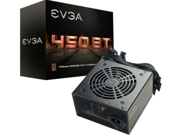Amazon is selling an EVGA 450W PSU for $10