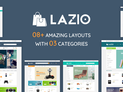 Lazio - Toys and Game Accessories WordPress Theme (WooCommerce)