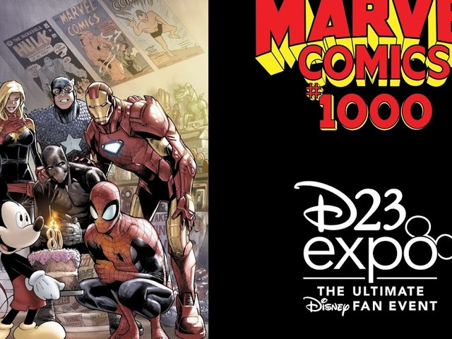 MARVEL REVEALS LIMITED-EDITION MARVEL COMICS #1000 VARIANT FOR D23 EXPO 2019