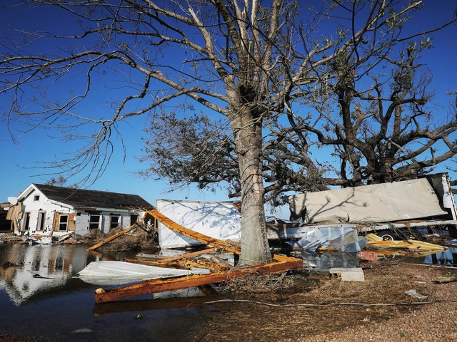 Hurricane Delta Victims Get More Time to Pay Taxes