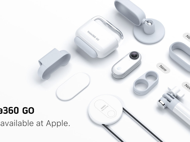 Versatile Insta360 GO action camera lands at Apple Stores in exclusive bundle