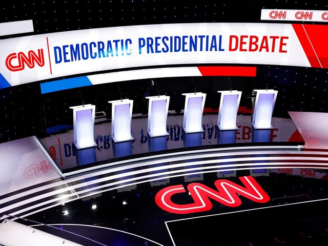 Where to watch tonight's Democratic presidential debate on TV, internet and with like-minded voters